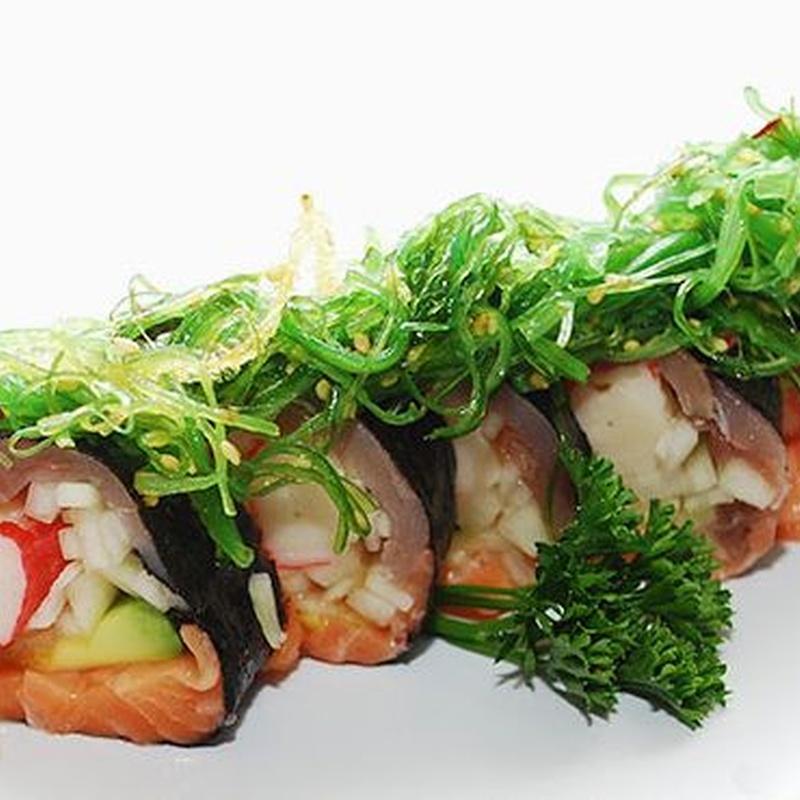 Sushi Rolls sin arroz: Carta de Fujiyama Sushi Bar & Asian Cuisine
