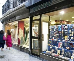 Tienda de tejidos en Sevilla