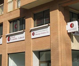 Servicios del departamento mercantil: Servicios de Domingo Orduna
