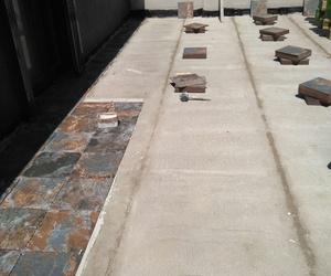 Terrazas - Impermeabilización y embaldosado.