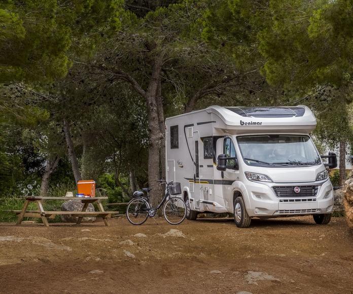 Benimar Mileo 263 (5 places): Les nostres autocaravanes de Autocaravanas Delta