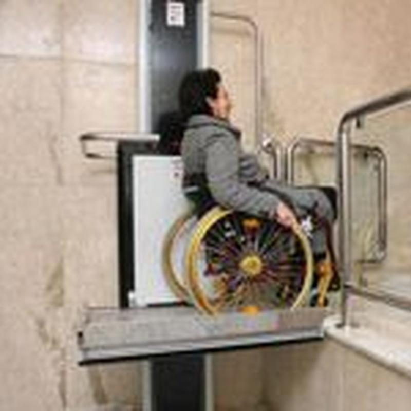 Elevadores para movilidad reducida: Productos y servicios de TOT ELEVACIÓ