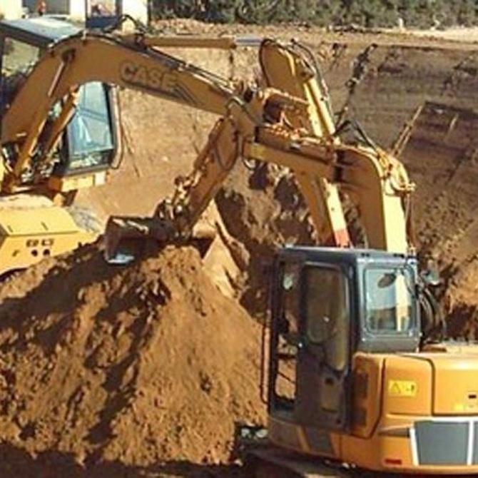 Algunas herramientas para excavaciones