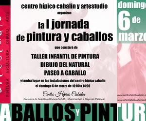 I JORNADA DE PINTURA Y CABALLOS ARTESTUDIO-CENTRO HÍPICO CABALIN