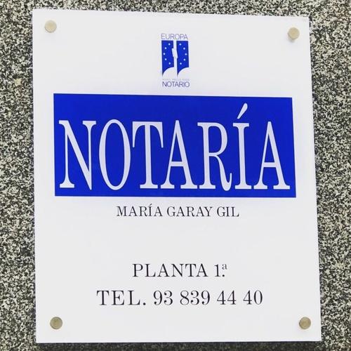Poder notarial Sant Antoni, Barcelona | Notaría María Garay Gil