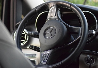Reparación y tintado de volante