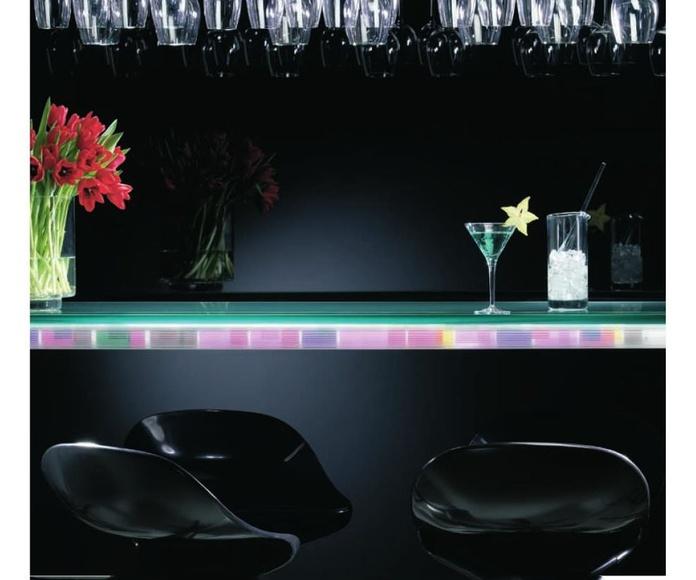 Cristales de colores para decoración Parla