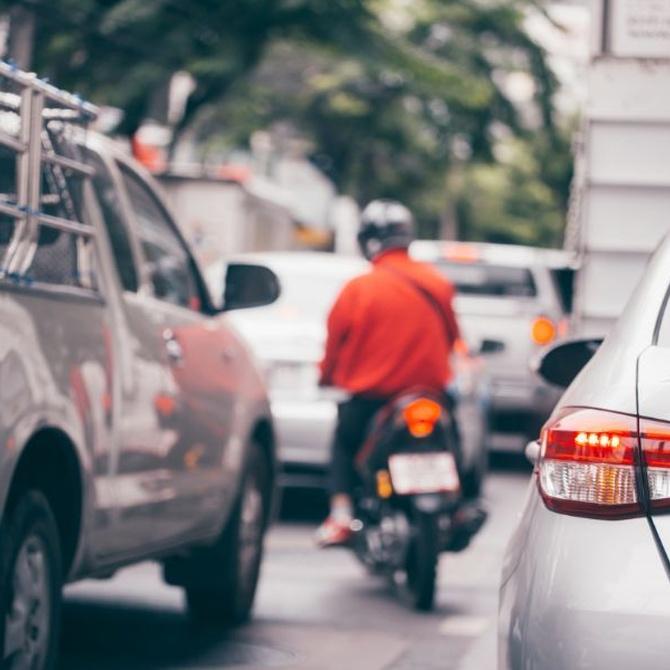 Elige la moto como medio de transporte