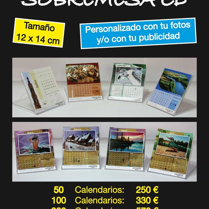Calendarios CD: Servicios de Cemeyka Digital