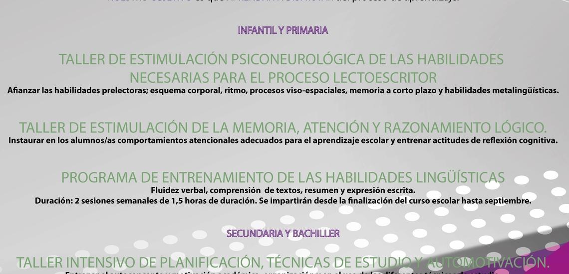 Psicología infantil en Arucas