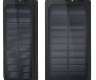 PowerBANK SOLAR. Para que tus dispositivos siguan funcionando. 22,90 € iva incluido