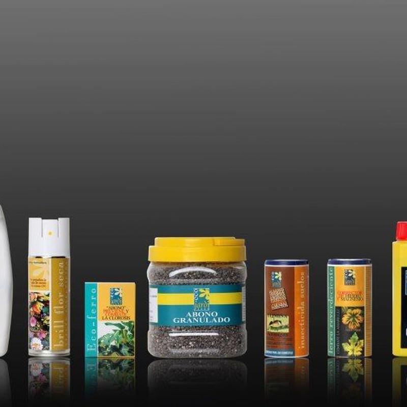 Productos para el cuidado de las plantas: Servicios de Sarria Flors
