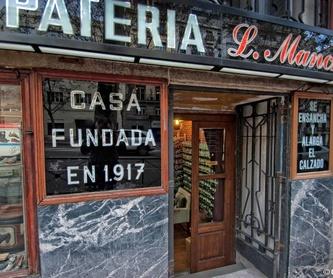 Taller Artesanal de Zapatería Luis Mancho, Madrid.