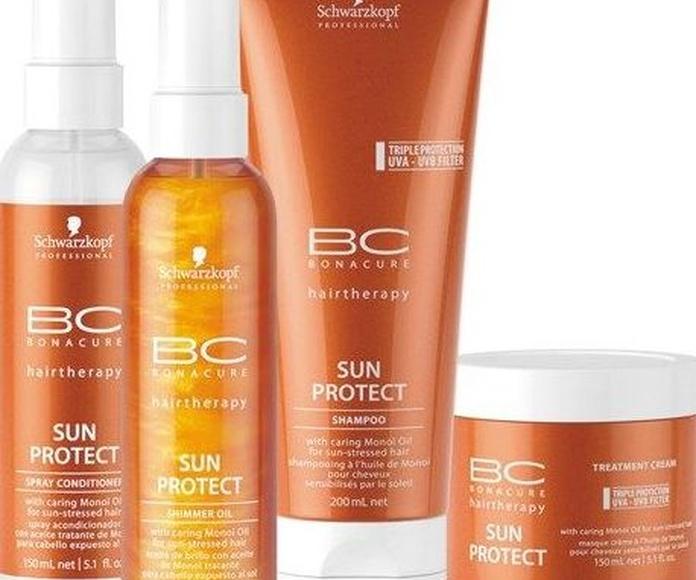 BC Sun Protect: Productos y servicios de Antonio Peluquero