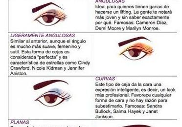 Diseños de cejas