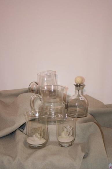 Porta vela pequeño de cristal: Catálogo de Ste Odile Decoración