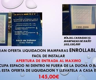 Mamparas adaptadas: Servicios  de MAMPARAS WAJAL