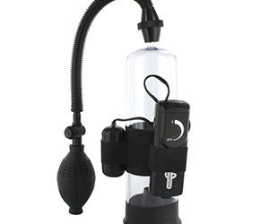 Bomba de erección con vibrador - Power the ultimate vibrating pump