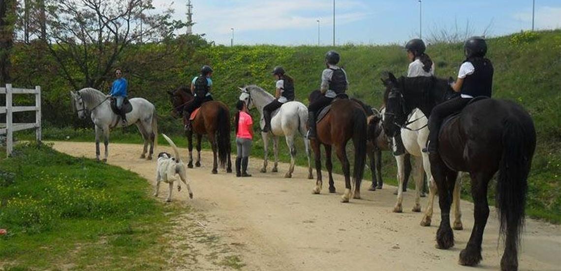 Montar a caballo en Sevilla