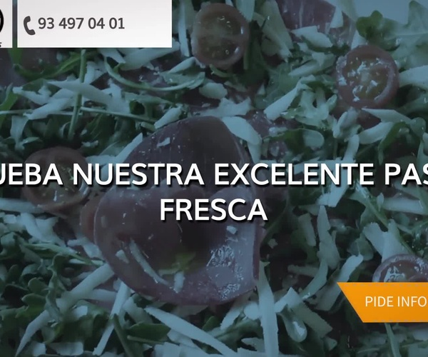Pizzas italianas en Badalona, Barcelona: Pizzería Oasis