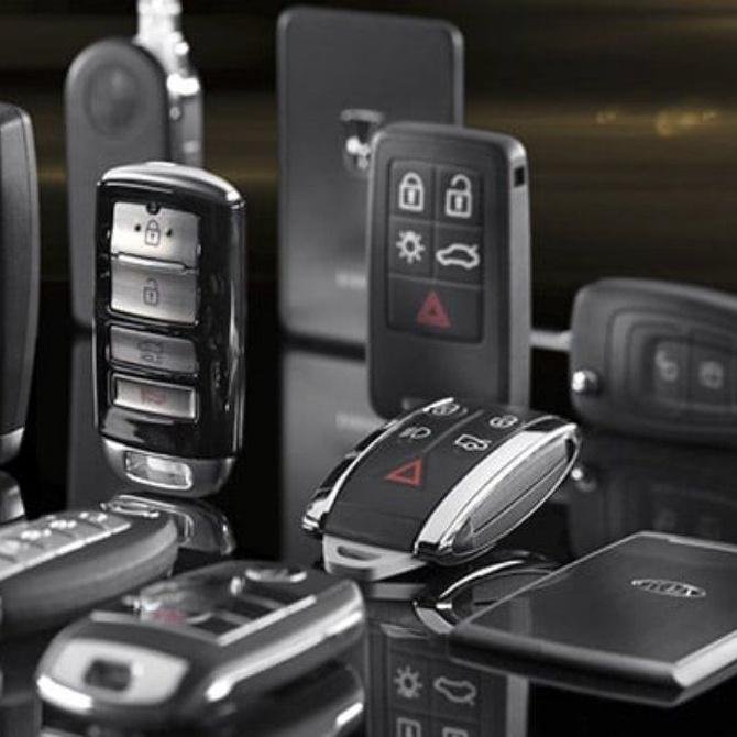 Evolución de las llaves de coches a lo largo del tiempo