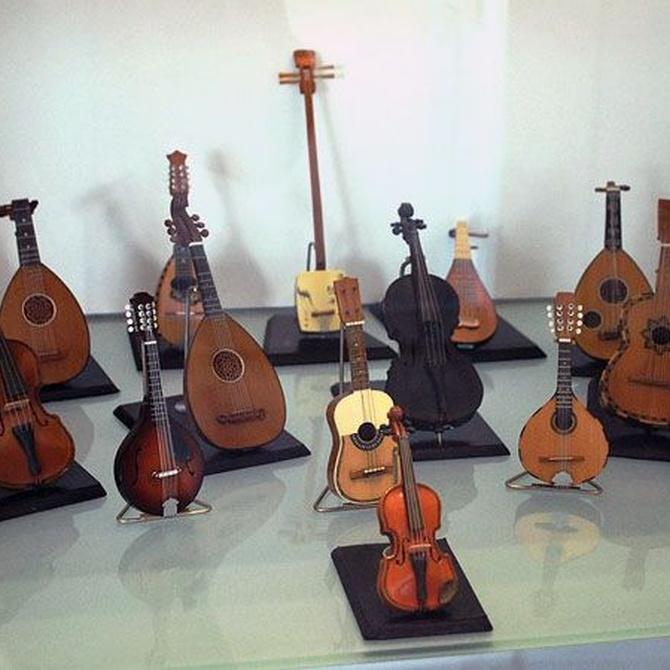 La madera en los instrumentos musicales