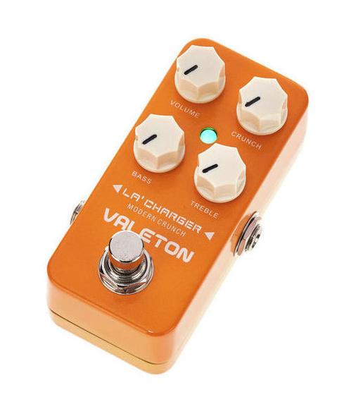 Pedal de distorsión para guitarra eléctrica, típica de los 80´s
