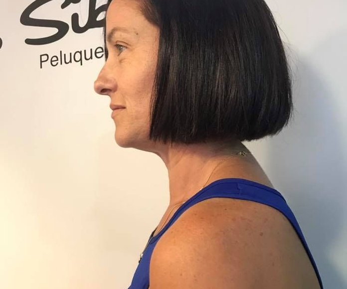 Corte de pelo y cambio de color