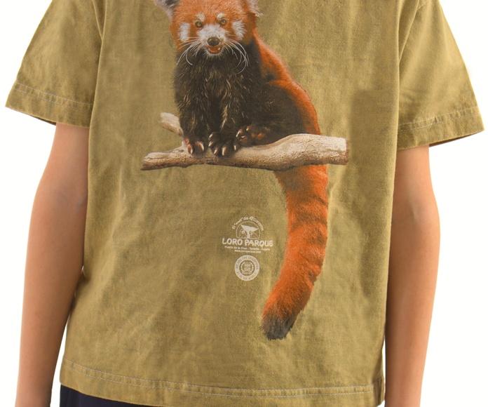 Camiseta Niño/Niña Panda Rojo: Productos de BELLA TRADICION