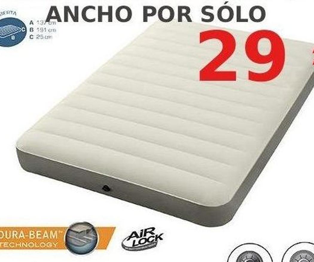 Consejos para comprar un colchón hinchable (II)