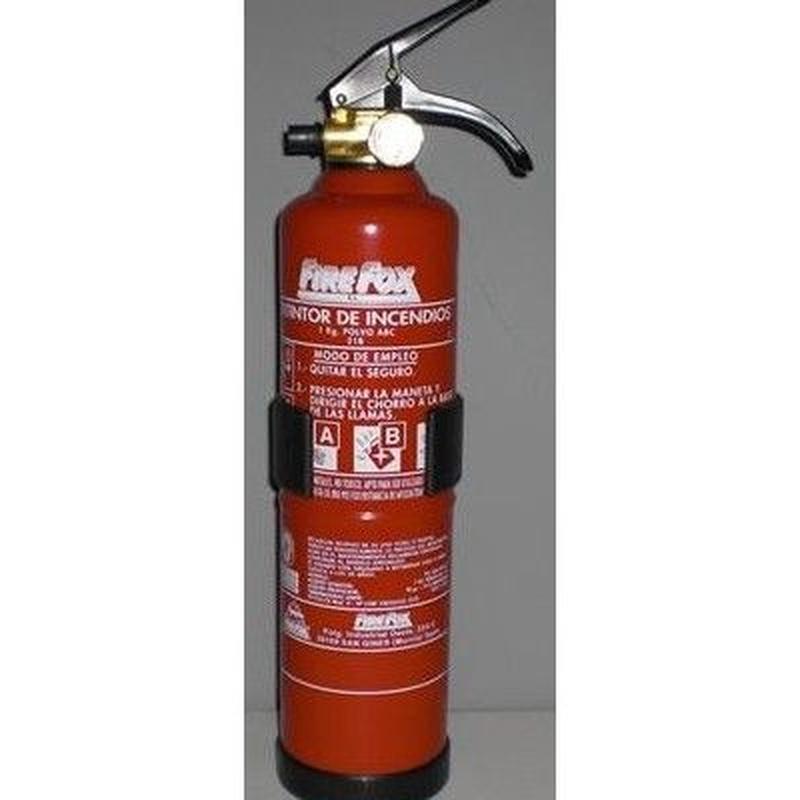 Extintores polvo: Productos y servicios de Detecta PCI