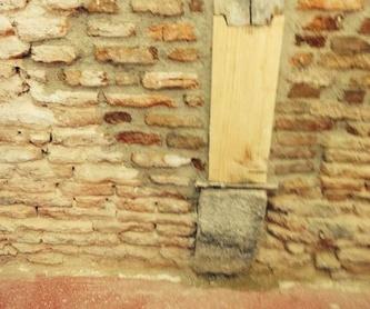 Rehabilitación de edificios: Servicios de Restauraciones Hernández