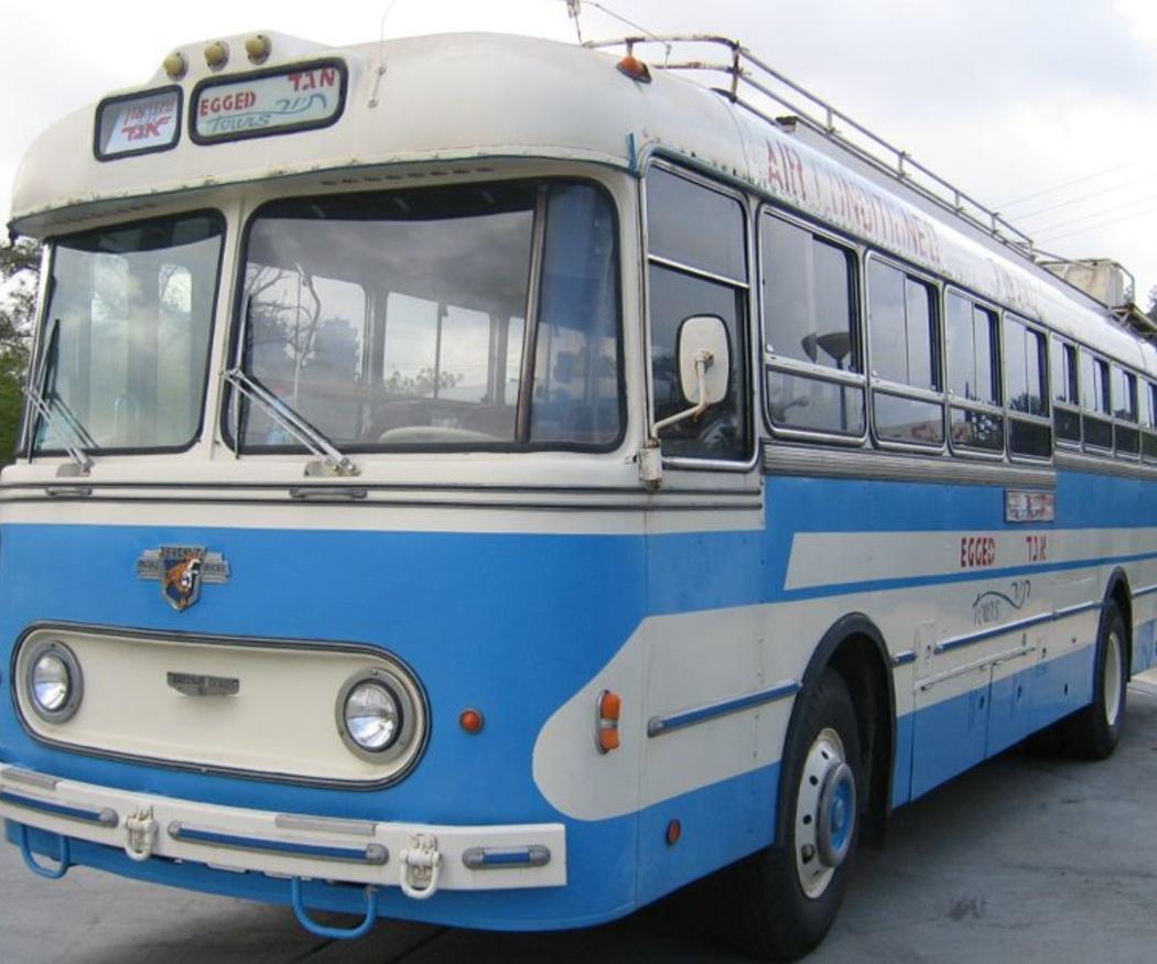 La historia del autobús como transporte colectivo