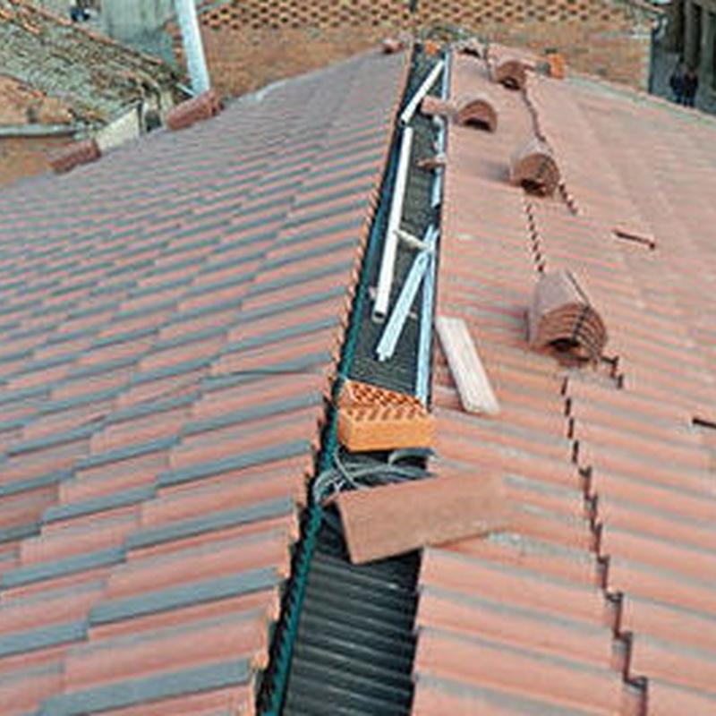 tejados en Segovia