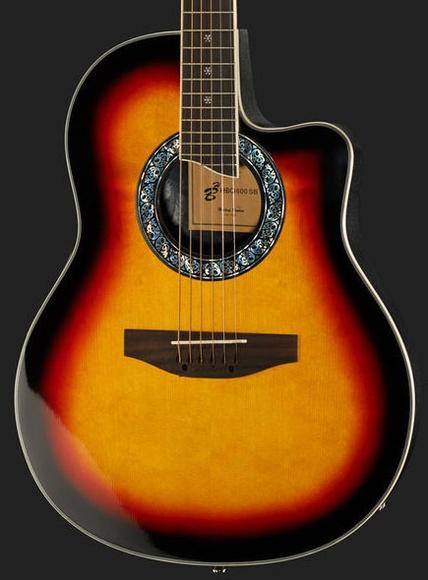 Guitarra acústica con pastilla Harley Benton. Decibelios Playa Honda Lanzarote