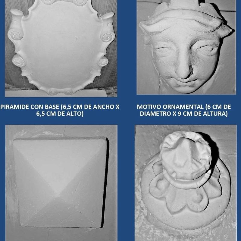 Adornos  y Candilejas: Catálogo de I. De Escayolas Palomares