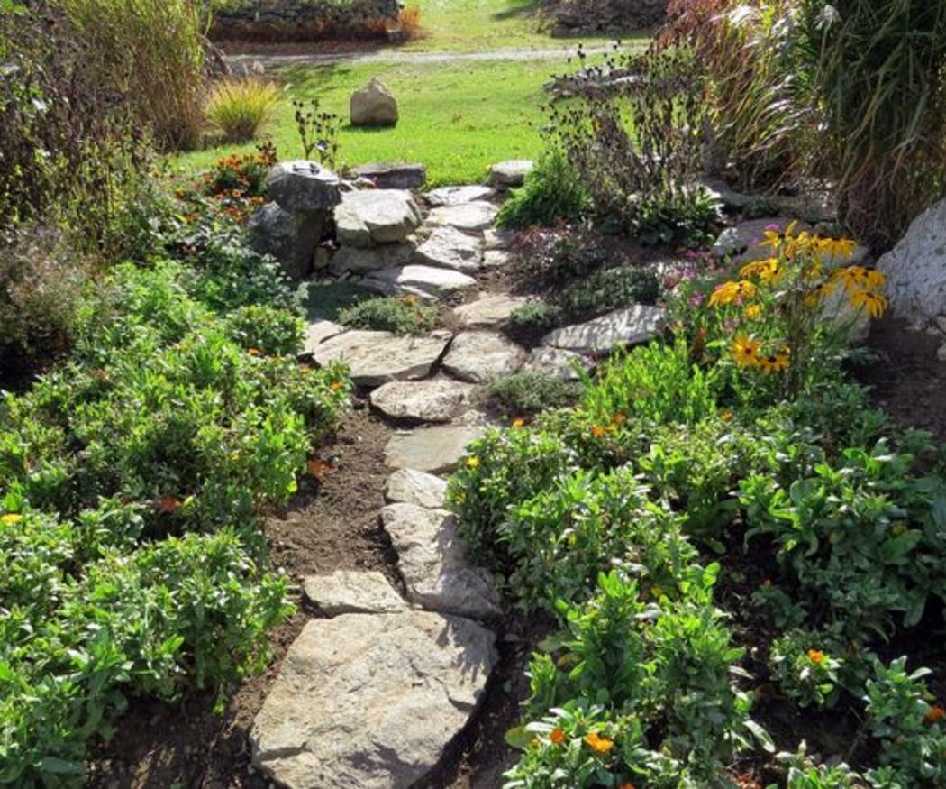 Usos de las piedras en el jardín