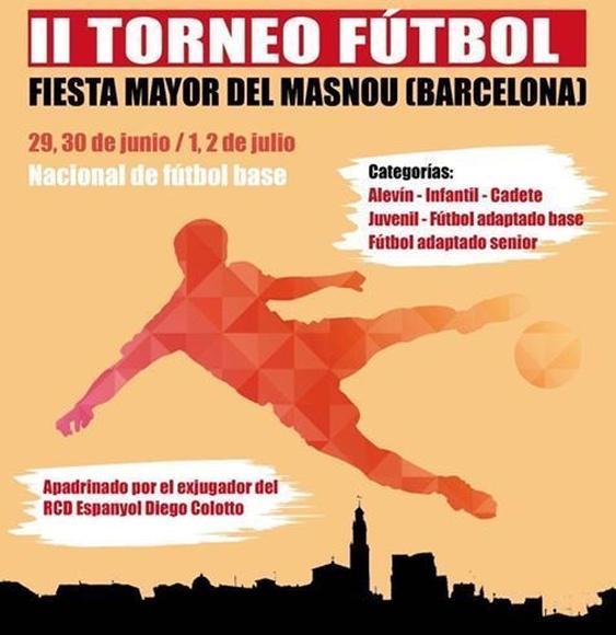 Segundo torneo de fútbol de Masnou