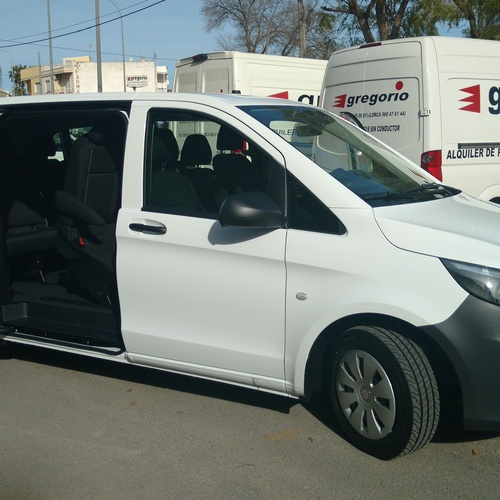 Rent of trucks in Murcia | Gregorio Rent of Vans without driver