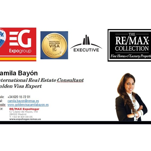 Golden Visa Camila Camila Bayon |