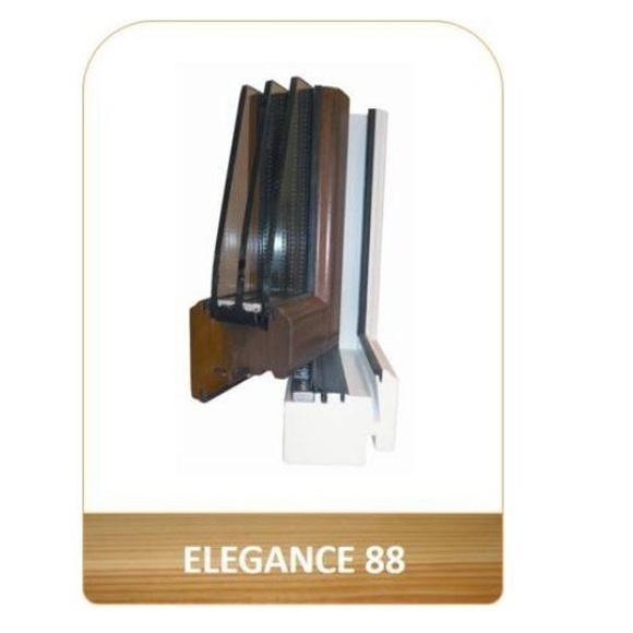 Ventana aislante en madera Elegance 88: Productos de Carpintería Ortal