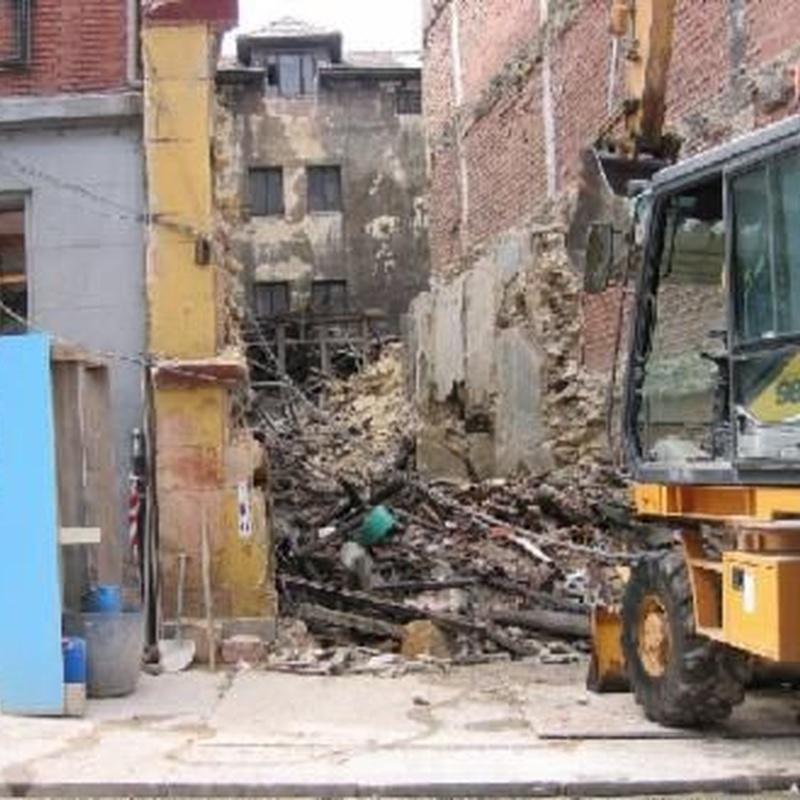 Demoliciones y derribos mecánicos: Servicios de Demoliciones Floreal