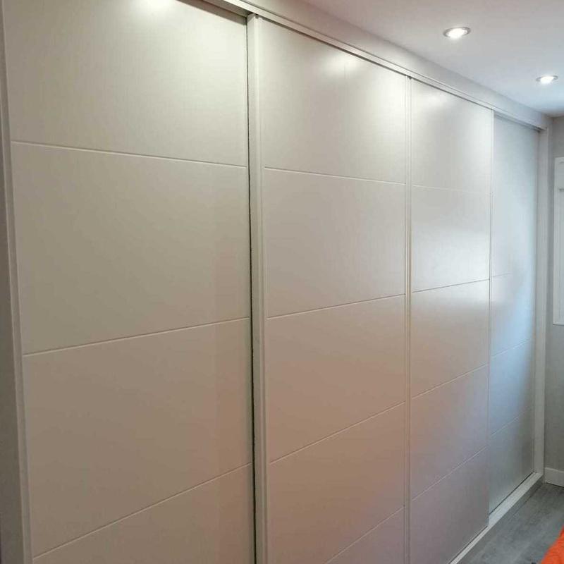 Frente e interior de armario Alcobendas