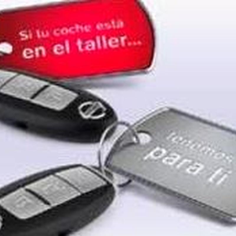 Vehículos de sustitución: Servicios de Talleres Martínez Málaga