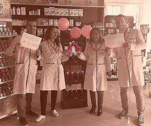 Enlázate a la vida, dia mundial contra el cancer de mama
