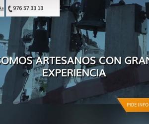 Reparación de campanas de iglesia en Zaragoza | Pallás Campanas y Relojes