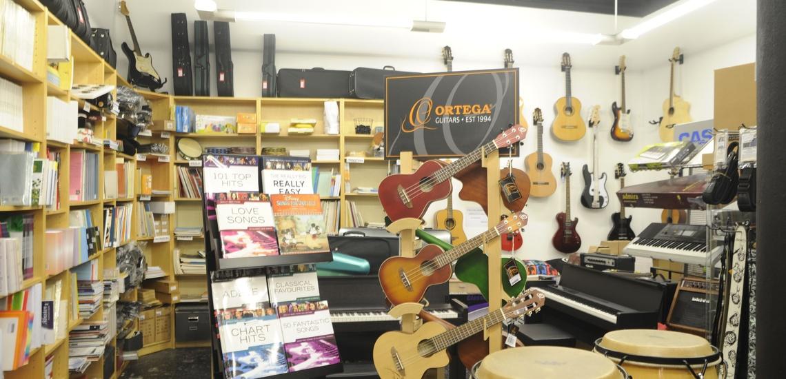 Tienda de instrumentos musicales en Bilbao con asesoría en la compra
