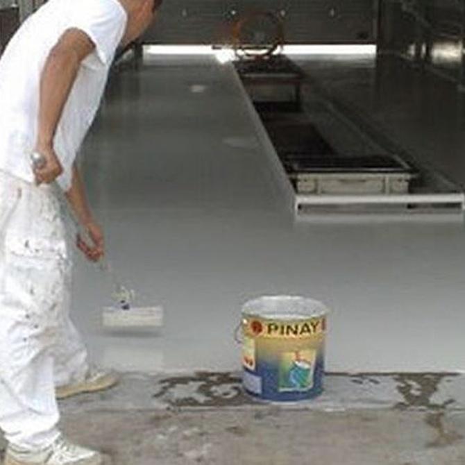 ¿Dónde se utilizan los pavimentos de resina epoxi?