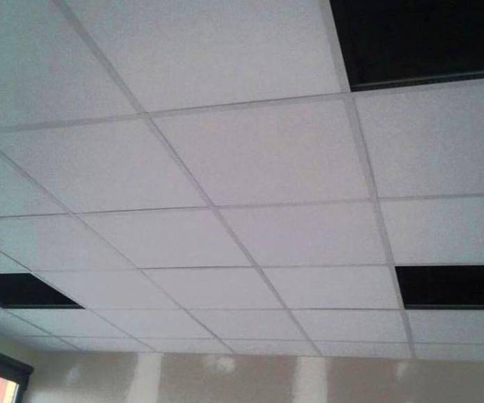 oficinas nave con pladur