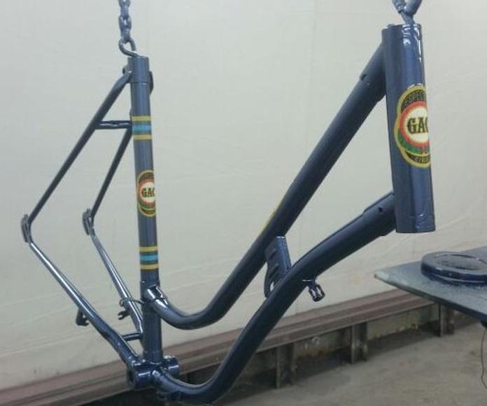 Restauración de bicicletas: Servicios que prestamos de Autochapa 2000